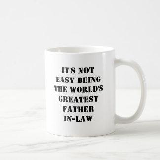 Father-In-Law Classic White Coffee Mug