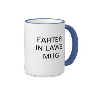 FATHER IN LAW MUG WITH A TWIST TEXT ONLY HUMOR