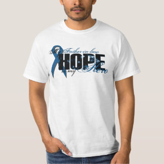 Father-in-law My Hero - Colon Cancer Hope T-Shirt