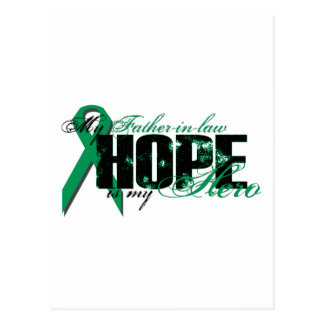 Father-in-law My Hero - Kidney Cancer Hope Postcard