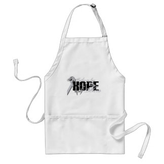 Father-in-law My Hero - Lung Hope Adult Apron