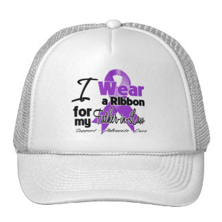 Father-in-Law - Pancreatic Cancer Ribbon Trucker Hats
