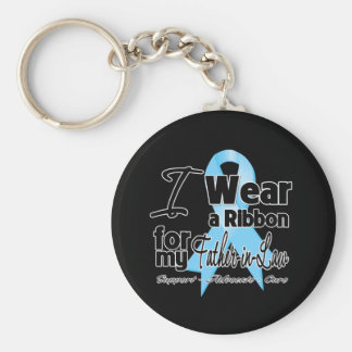 Father-in-Law - Prostate Cancer Ribbon Keychain