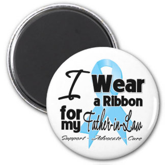 Father-in-Law - Prostate Cancer Ribbon Magnet