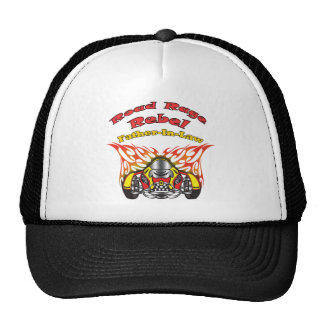 Father-in-law Road Rage Racing Gifts Hats