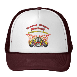 Father-in-law Road Rage Racing Gifts Trucker Hats