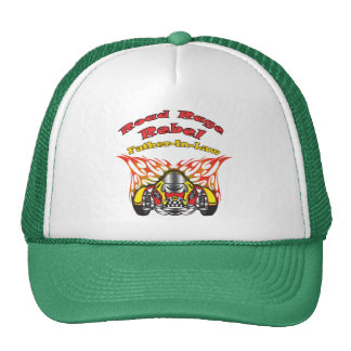 Father-in-law Road Rage Racing Gifts Mesh Hat