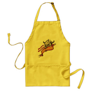 Father-in-law Skull Father's Day Gifts Adult Apron