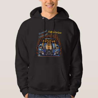 Father-in-law Speed Demon Racing Gifts Hoodie
