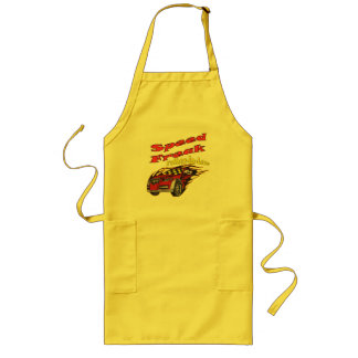 Father-in-law Speed Freak Racing Gifts Long Apron