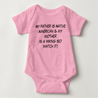 Father is Native American & Mother Is Viking Shirt