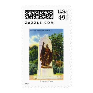 Father Jogues Memorial View Postage Stamp