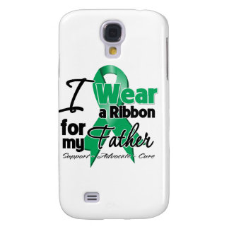 Father - Liver Cancer Ribbon.png Galaxy S4 Cover