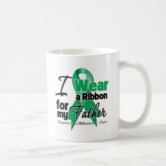 Father - Liver Cancer Ribbon.png Classic White Coffee Mug