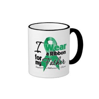Father - Liver Cancer Ribbon.png Coffee Mug