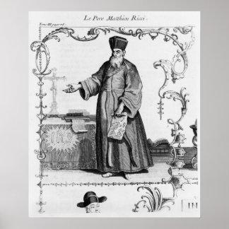 Father Matteo Ricci Poster