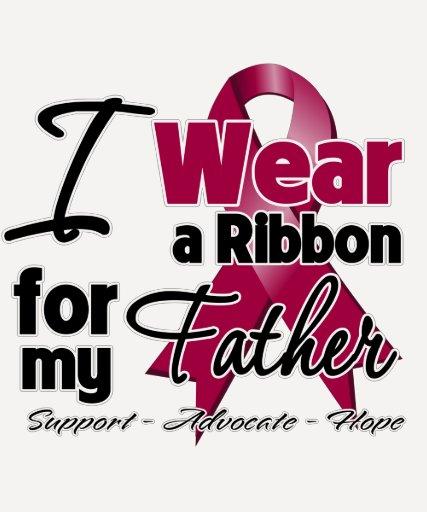 Father - Multiple Myeloma Ribbon T Shirt