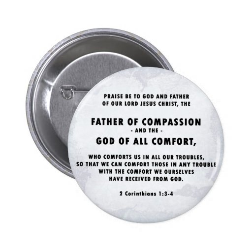 Father of Compassion Button