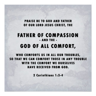 Father of Compassion Poster