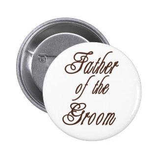 Father of Groom Classy Browns Pins