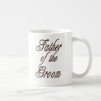 Father of Groom Classy Browns Coffee Mug