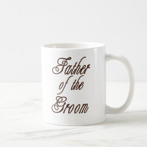 Father of Groom Classy Browns Coffee Mugs