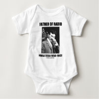 Father Of Radio Nikola Tesla (1856-1943) Tee Shirt