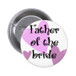Father of the Bride 2 Inch Round Button