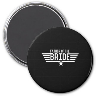 Father of the Bride 3 Inch Round Magnet
