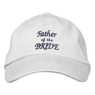 Father of the Bride Adjustable Hat