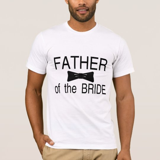 Father Of The Bride Bowtie T-Shirt