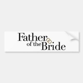Father Of The Bride Bumper Sticker