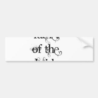 Father of the Bride Bumper Stickers
