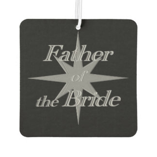Father of The Bride Car Air Freshener