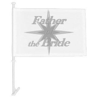 Father of the Bride Car Flag