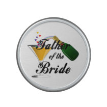 Father of the Bride Champagne Toast Bluetooth Speaker