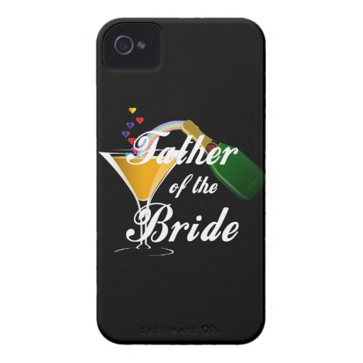 Father of the Bride Champagne Toast Blackberry Bold Cover