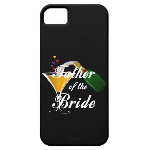Father of the Bride Champagne Toast iPhone 5 Cover