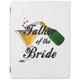 Father of the Bride Champagne Toast iPad Cover