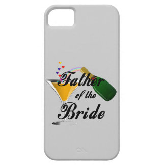 Father of the Bride Champagne Toast iPhone SE/5/5s Case