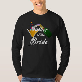 Father of the Bride Champagne Toast T-shirt