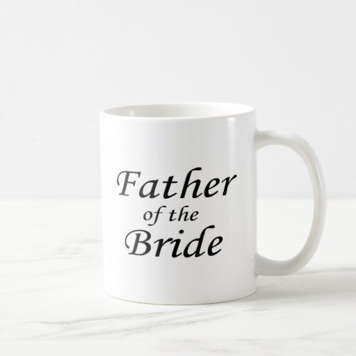 Father Of The Bride Classic White Coffee Mug
