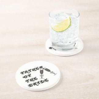 Father Of The Bride Drink Coasters