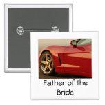 Father of the Bride Corvette Pin