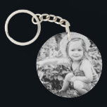 "Father of the Bride Custom Photo Keychain<br><div class=""desc"">This is a great Father of the Bride Gift from the Bride.  Your custom photo on one and &quot;Father of the Bride&quot; with wedding date on the other. (white background with black lettering)</div>"