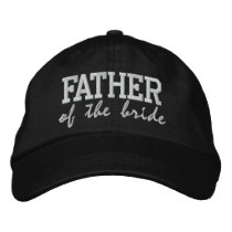 Father of the Bride: Customizable Wedding Cap