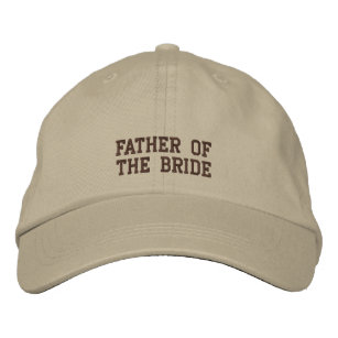 4ff36c20acd Father of the Bride! Embroidered Baseball Cap