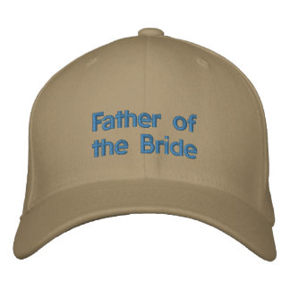 Father of the Bride Embroidered Baseball Hat