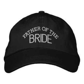 Father of the BRIDE Embroidered Baseball Cap