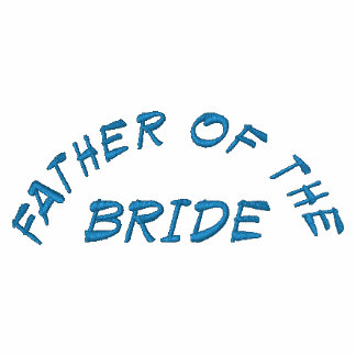 FATHER OF THE, BRIDE EMBROIDERED HOODIE